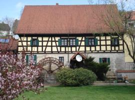 Hotel-Restaurant Bergmühle, Neudrossenfeld (Trebgast yakınında)