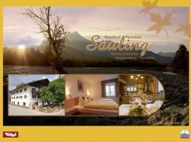 Hotel Säuling Garni, Pinswang (Musau yakınında)