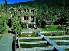 La Fabrica Casa Rural, Senterada (рядом с городом La Pobleta de Bellvei)