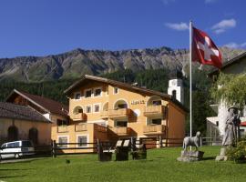 Hotel Landgasthof Staila, Fuldera (Tschierv yakınında)