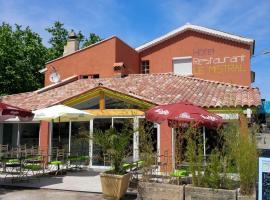 Hôtel Restaurant le Mistral, Peipin (рядом с городом Valbelle)