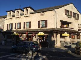 Auberge du soleil, Mazet-Saint-Voy (рядом с городом Saint-Jeures)
