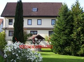 Ferienwohnung Hilde Hiemer, Lindau (Unterreitnau yakınında)