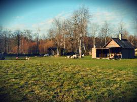 Mardi Saun, Suuremõisa (Hellamaa yakınında)