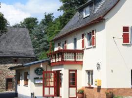 Landgasthaus Alter Posthof, Halsenbach (Karbach yakınında)