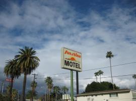 Sunshine Motel, San Bernardino (in de buurt van Serrano Village)