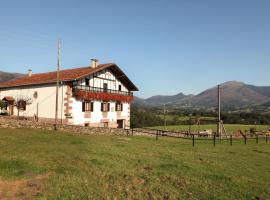 Casa Rural Petisansenea, Zuaztoy de Azpilcueta (Errazu yakınında)