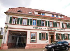 Gasthaus Zum Ochsen, Hochstadt (Weingarten yakınında)