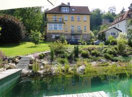 Pension Villa am Burgberg, Waltershausen (Laucha yakınında)