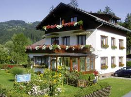 Pension Leyrer, Kötschach (Gentschach yakınında)