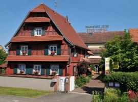Hôtel Restaurant Ritter'hoft, Morsbronn-les-Bains (рядом с городом Gunstett)