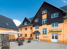 Hotel Ahornberg, Seiffen (Deutscheinsiedel yakınında)