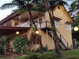 Foxwell Park Lodge, Malanda (Yungaburra yakınında)
