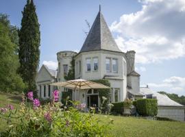 Chambres d'Hôtes Manoir de Montecler, Шенютт-ле-Тюффо (рядом с городом Trèves-Cunault)