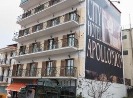 City Hotel Apollonion, Karpenision