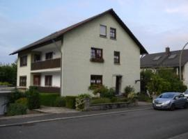 Ferienwohnung Gisela Schmidt, Amorbach (Weilbach yakınında)