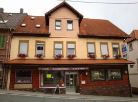Cafe - Pension Zum Goldenen Stern, Beerfelden
