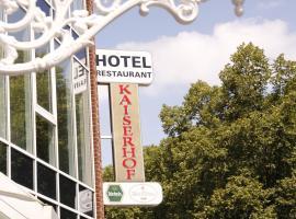 Hotel Kaiserhof Wesel, Wesel (Voshövel yakınında)