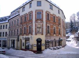 Hotel Hardys-Eck, Auerbach (Fichtzig yakınında)