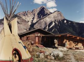Rocky Mountain Log Chalet