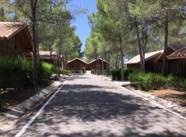 Cabañas Valle del Cabriel, Villatoya (рядом с городом Venta del Moro)