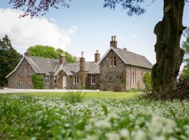 Orroland Lodge, Kirkcudbright (рядом с городом Dundrennan)
