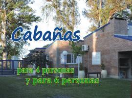 Cabañas Costa Azul, Sauce Viejo (San Jerónimo del Sauce yakınında)