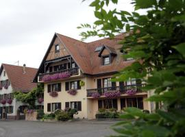 Hotel Restaurant A L'Etoile, Mittelhausen (рядом с городом Durningen)