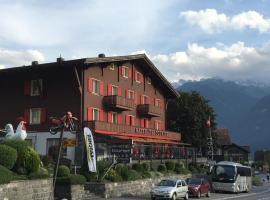 Hotel Tourist, Fluelen (Bauen yakınında)
