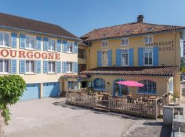 Hotel Le Bourgogne, Кюизо (рядом с городом Gizia)