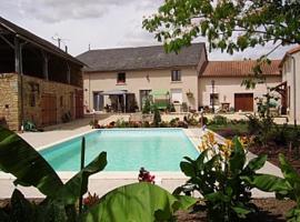 Grande Maison des Tournesols, Saint-Jouin-de-Marnes (рядом с городом Frontenay-sur-Dive)