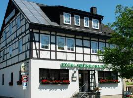 Hotel Grüner Baum, Stollberg (Lugau yakınında)