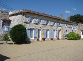 Chambre d'Hôtes Beaurepaire, Saint-Simon-de-Pellouaille (рядом с городом Tesson)