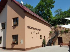 Penzion Starovice, Starovice (Hustopeče yakınında)