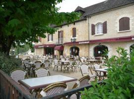 Hotel Restaurant L'Escale, Sainte-Nathalène (рядом с городом Prats-de-Carlux)