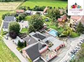 Familienhotel Friedrichshof, Obertrubach (Betzenstein yakınında)