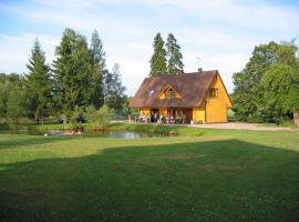 Kalda Holiday House, Viisuküla (Leeli yakınında)