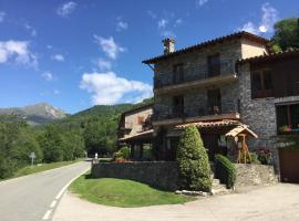 Hostal El Quintà, Espinavell (рядом с городом Les Bains de la Preste)