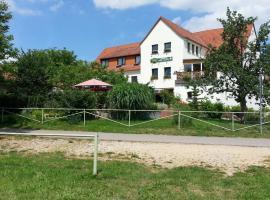 Landhotel GROBER's Reiterhof, Naumburg (Großjena yakınında)