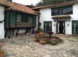 Hotel San Luis de Ucuengá, Nobsa (Tibasosa yakınında)