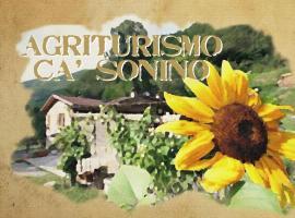 Agriturismo Cà Sonino, Bettola (Morfasso yakınında)