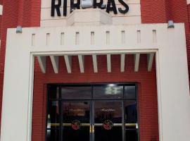 Hotel Riberas, San Nicolás de los Arroyos (La Emilia yakınında)