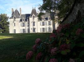 Chateau Pont Jarno B&B, Les Groseillers (рядом с городом Allonne)