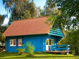 Ferienhaus Kranichblick mit Terrasse am Bodden, Neuendorf Heide