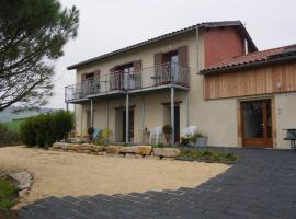 Chambres d'Hôtes des 2 Chênes, Bessenay (рядом с городом Montrottier)
