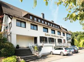 ABEO Hotel Goldener Acker, Morsbach (Sterzenbach yakınında)