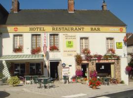 Hôtel Restaurant De La Place, Montmort-Lucy (рядом с городом Champaubert)