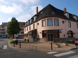 Hôtel Moderne, Gisors (рядом с городом Базенкур-сюр-Эпт)
