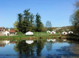 Yourtes du Moulin Bertrand, Martigny-Courpierre (рядом с городом Neuville-sur-Ailette)