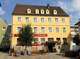 Landgasthof-Hotel Lichterhof, Uffenheim (Reichardsroth yakınında)